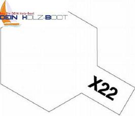 X-22 Klarlack (glanz)