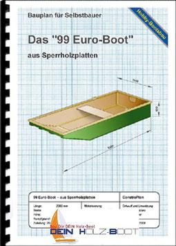 """Das """"99 Euro Boot"""" (Sperrholz und Holzleisten)"""