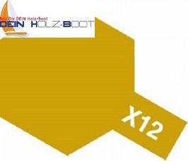 X-12 gold (glanz)