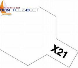 X-21 Klarlack (mattiert)