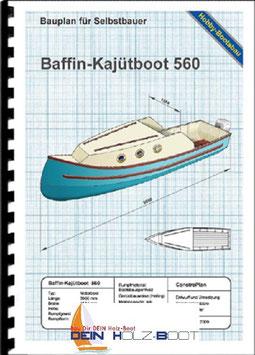 Baffin-Kajütboot 560 (Bootsbausperrholz)