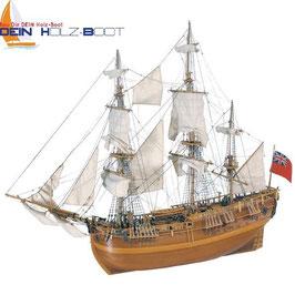 H.M.S. ENDEAVOUR 1768 das Schiff von James Cook