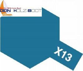 X-13 metallic blau (glanz)