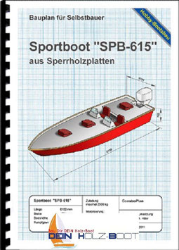 "Sportboot ""SPB-615"" (Bootsbausperrholz)"