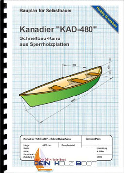 "Kanadier ""KAD-480"" (Massivholz)"