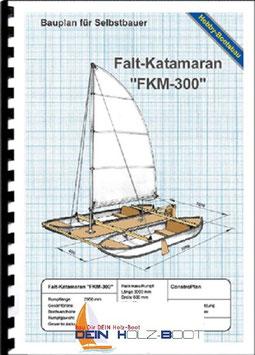 """Falt-Katamaran """"FKM-300"""" (Marinekunststoff)"""