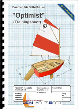 OPTIMIST Segeljolle (Sperrholz) Trainingboot