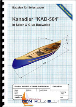 "Kanadier ""KAD-504"" (Sperrholz)"