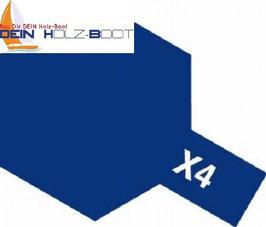 X-4 blau (glanz)