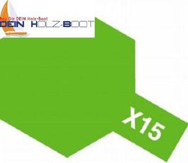 X-15 hell grün (glanz)