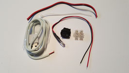 Slow Colour Changing Pre-Wired LED Kit (Red Green Blue) 5V 5mm