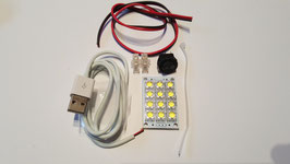 Super Bright 5v 12 LED Kit