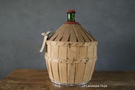 Calvadosfles in hout