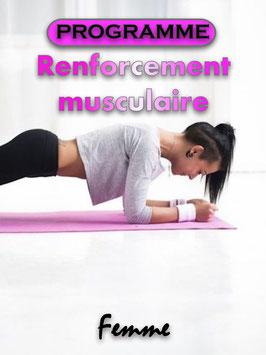 PROGRAMME RENFORCEMENT MUSCULAIRE (FEMME)