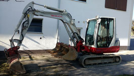 Minibagger 5,0to Takeuchi TB250