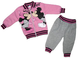 """Conjunto de bebé de felpa """"Mickey y Minnie"""""""