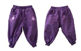 Pantalones cálidos de niña