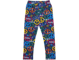 "Leggings cálido de niña ""Peace"""
