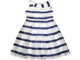 """Vestido de ceremonia de niña """"Contrast blue"""""""