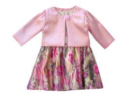 "Vestido de bebé niña con chaqueta modelo ""Magnolia"""