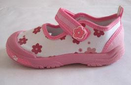 Zapatillas deportivas tipo manoletinas niña
