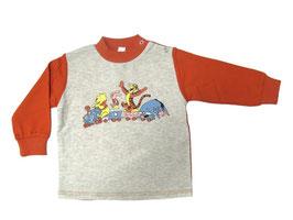 Camiseta de manga larga de felpa para niño