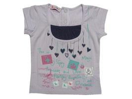 "Camiseta de manga corta ""Story"" para niña"