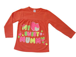 "Camiseta de manga larga ""My sweet mum"""