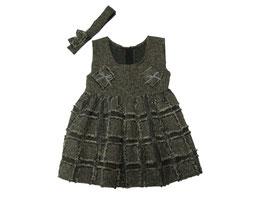Vestido de lino con diadema