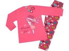 """Pijama de bebé niña """"Romantic girl"""""""