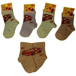 """Lote de calcetines de bebé niño """"Cars"""""""