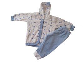 """Pijama de terciopelo de dos piezas """"Bunny"""""""