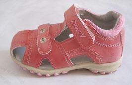 "Sandalias cerradas de niña modelo ""Caps rosa"""