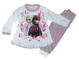 """Pijama de bebé niña camiseta y pantalón """"Frozen"""""""