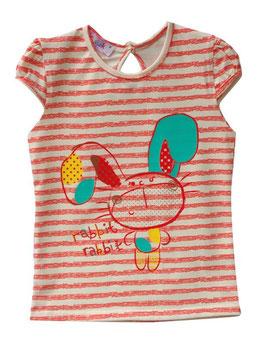 """Camiseta de manga corta para bebé niña modelo """"Rabbit"""""""