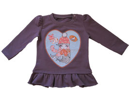 "Camiseta larga ""Snow girl"""