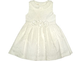 "Vestido de ceremonia ""White rose"""