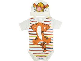"Conjunto bebé de bodi y gorro modelo ""Tigre"""