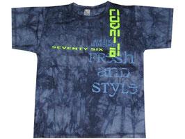 """Camiseta estampada de algodon""""Code-76"""""""