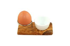 Eierbecher mit Porzellanschale