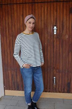 Lucy - Streifenshirt oversized FRAUEN