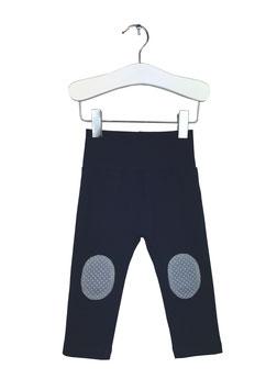 Gwendolin - Leggings dunkelblau mit Patches