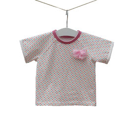 Daisy - Shirt Punkte mit Schleife