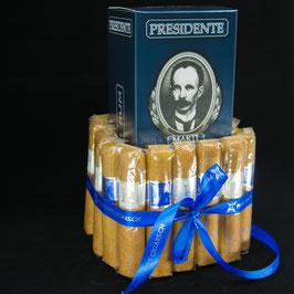 Zigarrenkuchen mit PRESIDENTE Marti Rum
