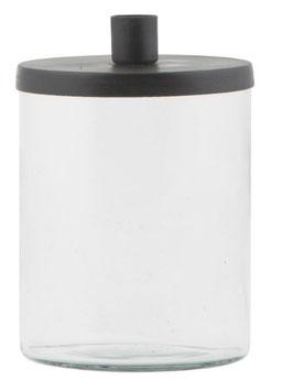 Glashalter für Stabkerzen Metalldeckel