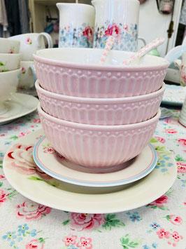 GreenGate Schüssel - Cereal Bowl Alice Pale Pink