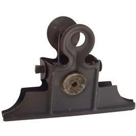 Ib Laursen Dokumentenklammer grau Magnet