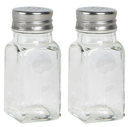 Ib Laursen Salz / Pfeffer Streuer aus Glas 2 tlg.