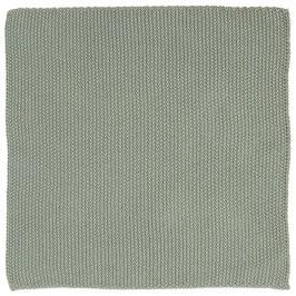 IB Laursen Spültuch / Spüllappen Mynte staubig grün gestickt