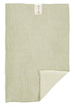 IB Laursen Handtuch ALTUM gestrickt grün